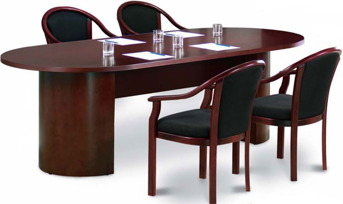 IMPORTANT NOTE the newest model of this table set features the. CHAIRS PICTURED BELOW u0026 not the chairs pictured above  sc 1 st  office pope & 6ft - 12ft Conference Room Table and Chairs Set  Meeting Table Set ...