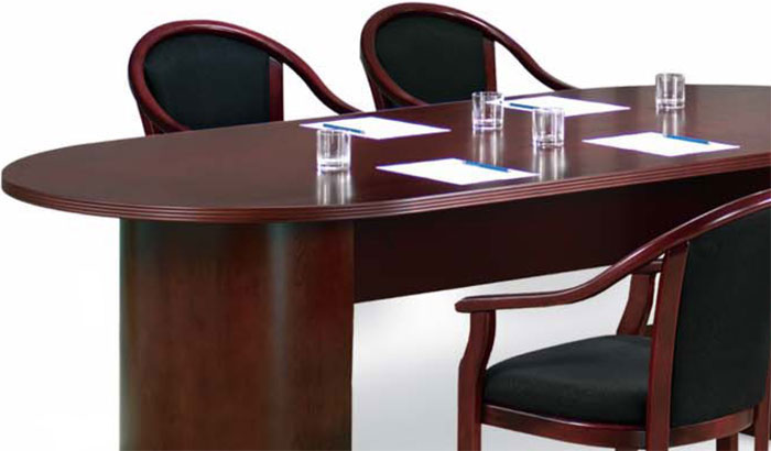 6ft 12ft Conference Room Table And Chairs Set Meeting