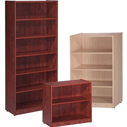 Wooden bookcases for the office cherry mahogany or