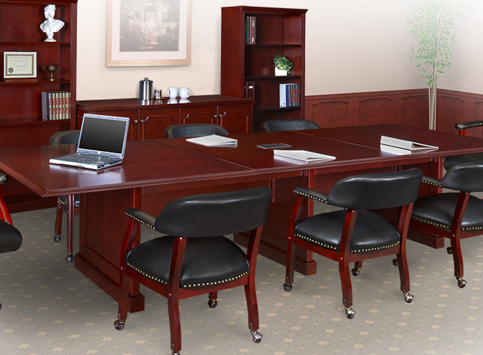 traditional conference room table and chairs set meeting