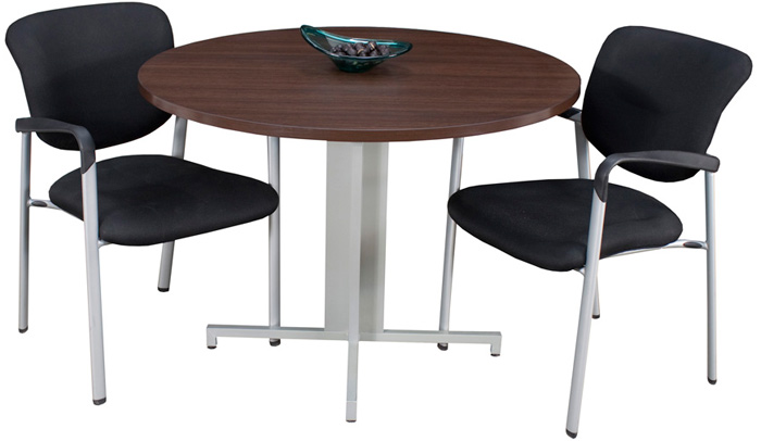 modern round conference table and chairs set 42 with
