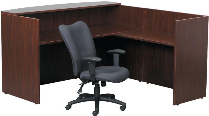Best Value L Shaped Reception Desk 6ft X 7ft Or 6ft X 6ft