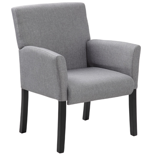 Modern Grey Guest Chairs Reception Room Chairs